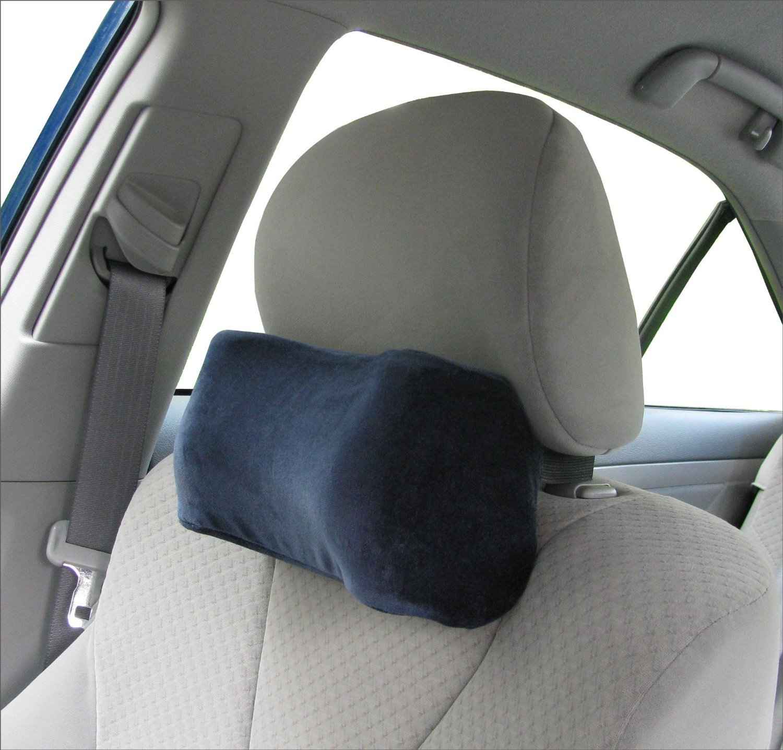 Car neck pillow soft version neck pillow car pillow memory foam neck pillow neck rest pillow car neck pillow color dark blue amazon in home