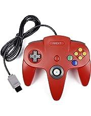 iNNEXT Rétro Manette 64 N64 Contrôleur, N64 Gamepad de jeu filaire pour 64 Console N64 (Rouge)