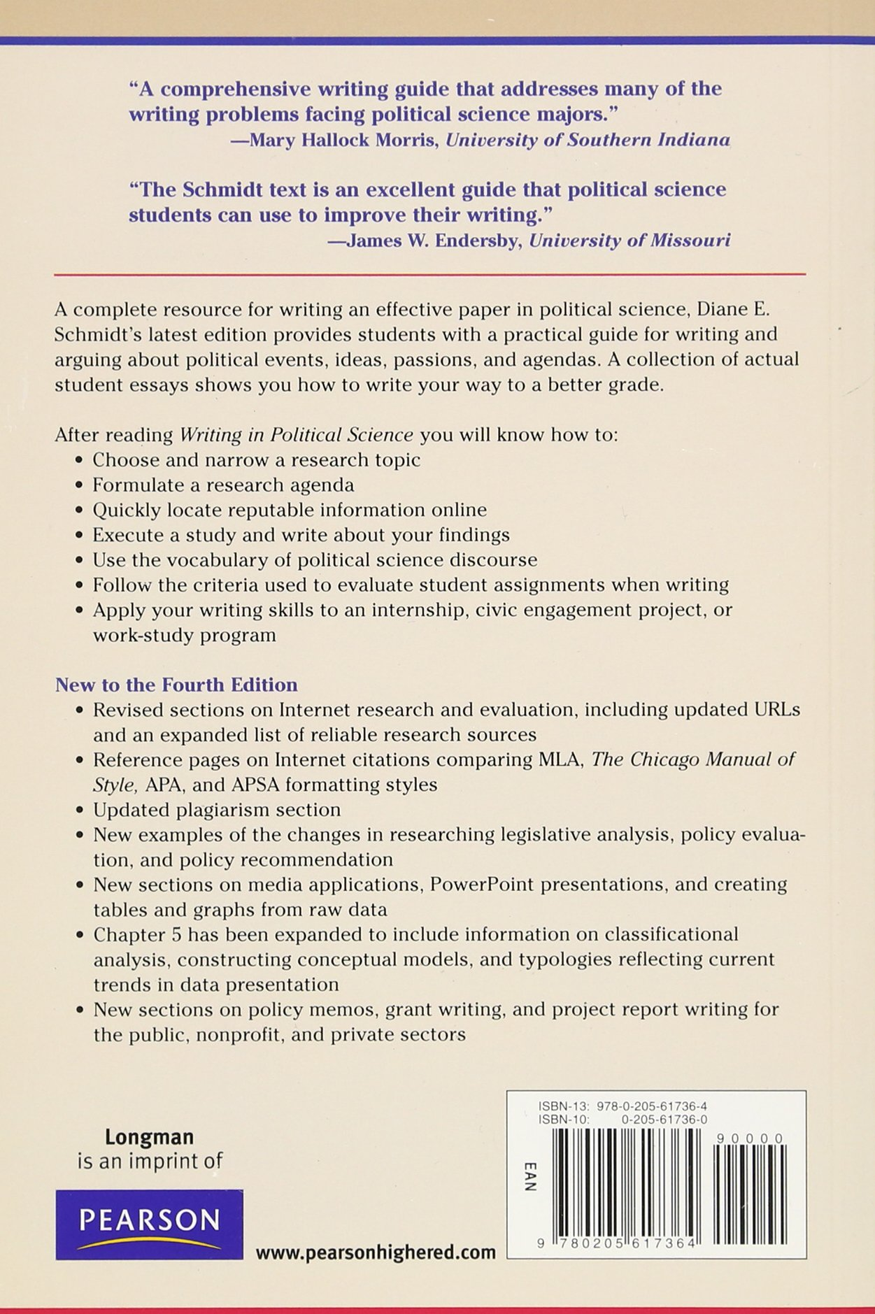 amazon writing in political science a practical guide diane e