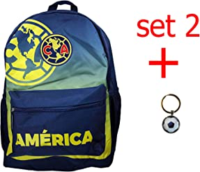 Club America backpack school mochila bookbag cinch shoe bag official