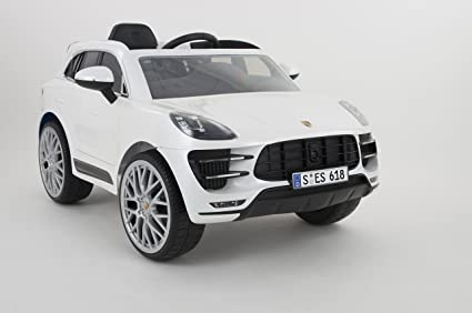 Rollplay 21232 Porsche Macan Turbo SUV 6 V RC, Color Blanco