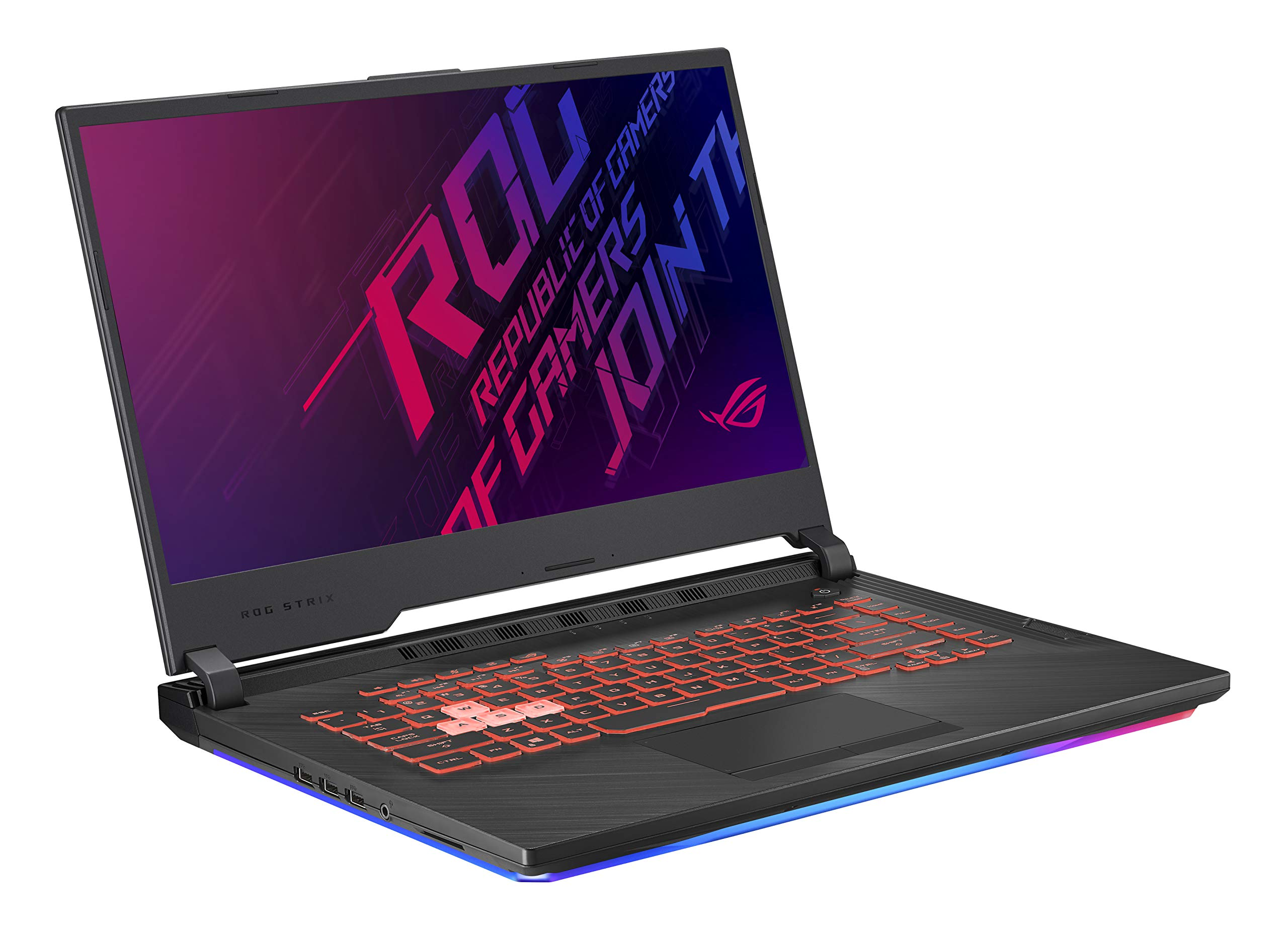 Asus ROG Strix G (2019) Gaming Laptop, 15.6'' IPS Type FHD, NVIDIA GeForce GTX 1650, Intel Core i7-9750H, 16GB DDR4, 1TB PCIe Nvme SSD, RGB KB, Windows 10 Home, GL531GT-EB76 by ASUS