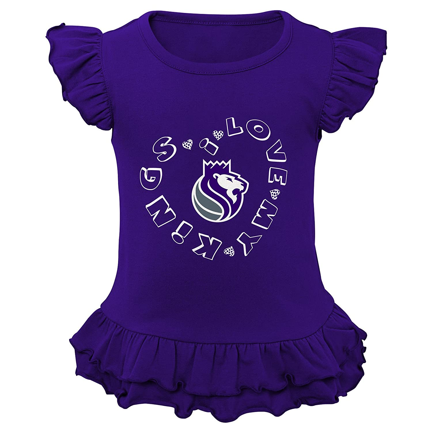 Outerstuff NBA Kids Team Love Ruffle Shirt and Pant Set