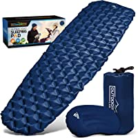 Outdoorsman Lab - Ultralight Sleeping Pad for Camping - Inflatable Sleeping Pads for Backpacking, Hiking, Traveling…