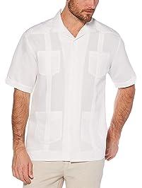 Cubavera Men's Short Sleeve Traditional Guayabera Shirt