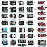 HALJIA 37 in 1 Sensor Module Kit With TUTORIAL pdf for Arduino Raspberry Pi UNO R3 MEGA2560 MEGA328 Nano