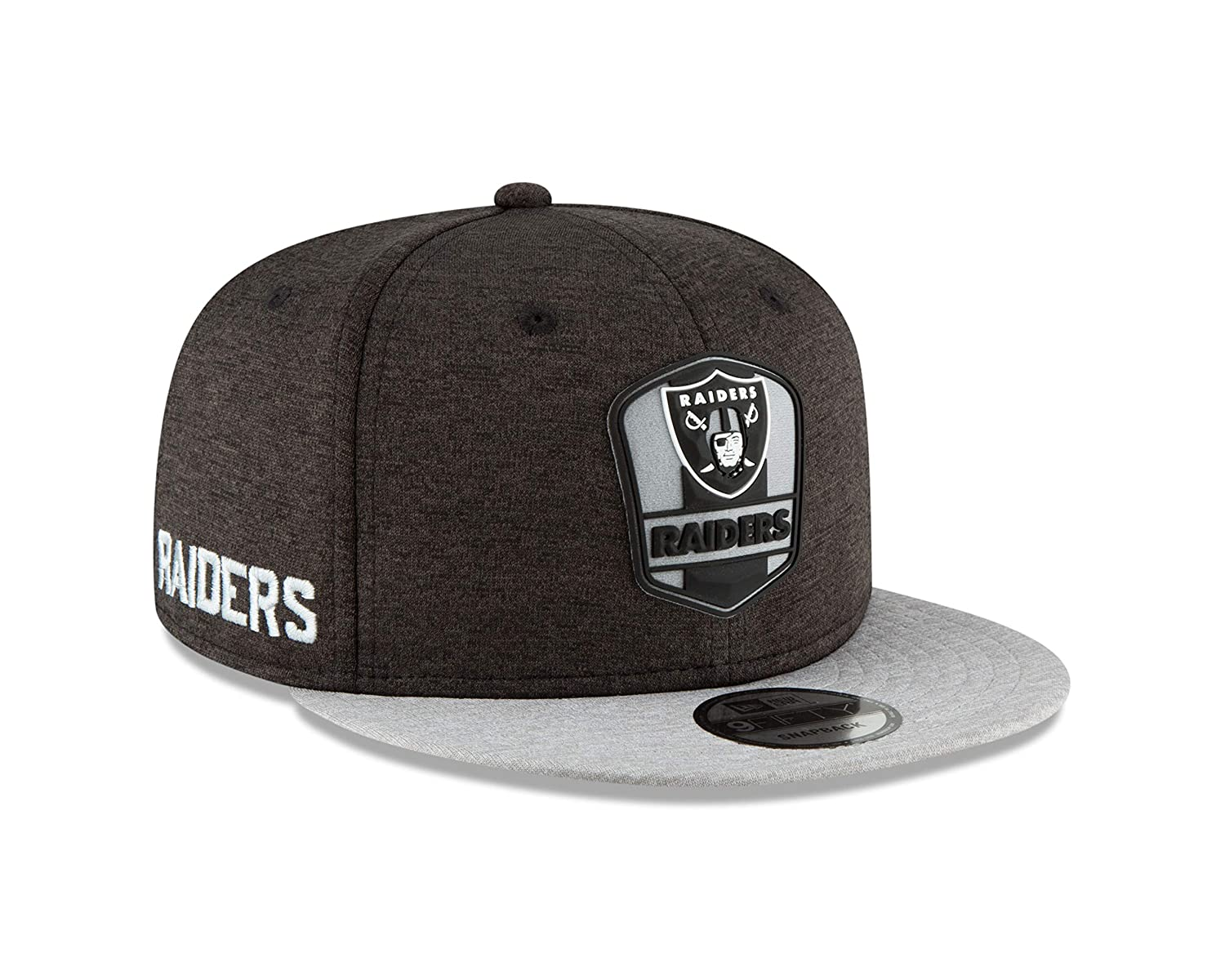 Amazon.com   New Era Oakland Raiders 2018 NFL Sideline Road Official 9FIFTY  Snapback Hat   Sports   Outdoors ad7a020ae7e