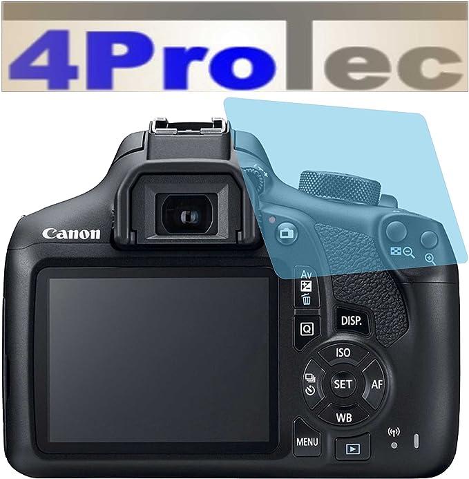 4ProTec I 4 St/ück GEH/ÄRTETE ANTIREFLEX Displayschutzfolie f/ür Canon EOS 80D Bildschirmschutzfolie