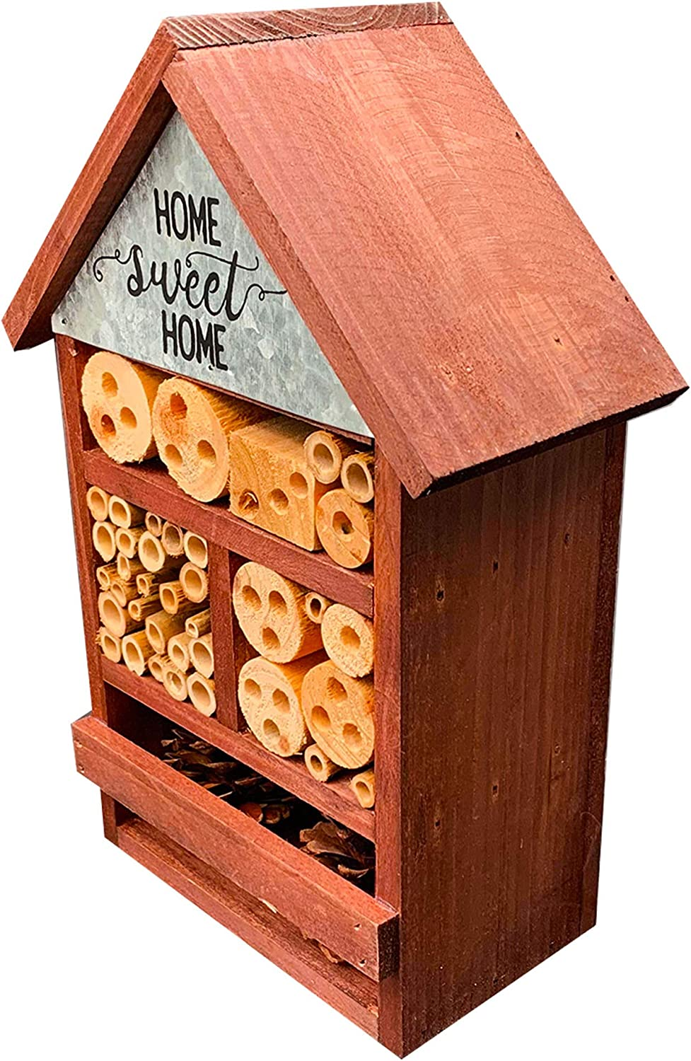 Attract Beneficial Bugs Give Your Live Ladybugs or Lacewings a Place To Live NatureZ Edge Eco Friendly Bee Hive Mason Bee House