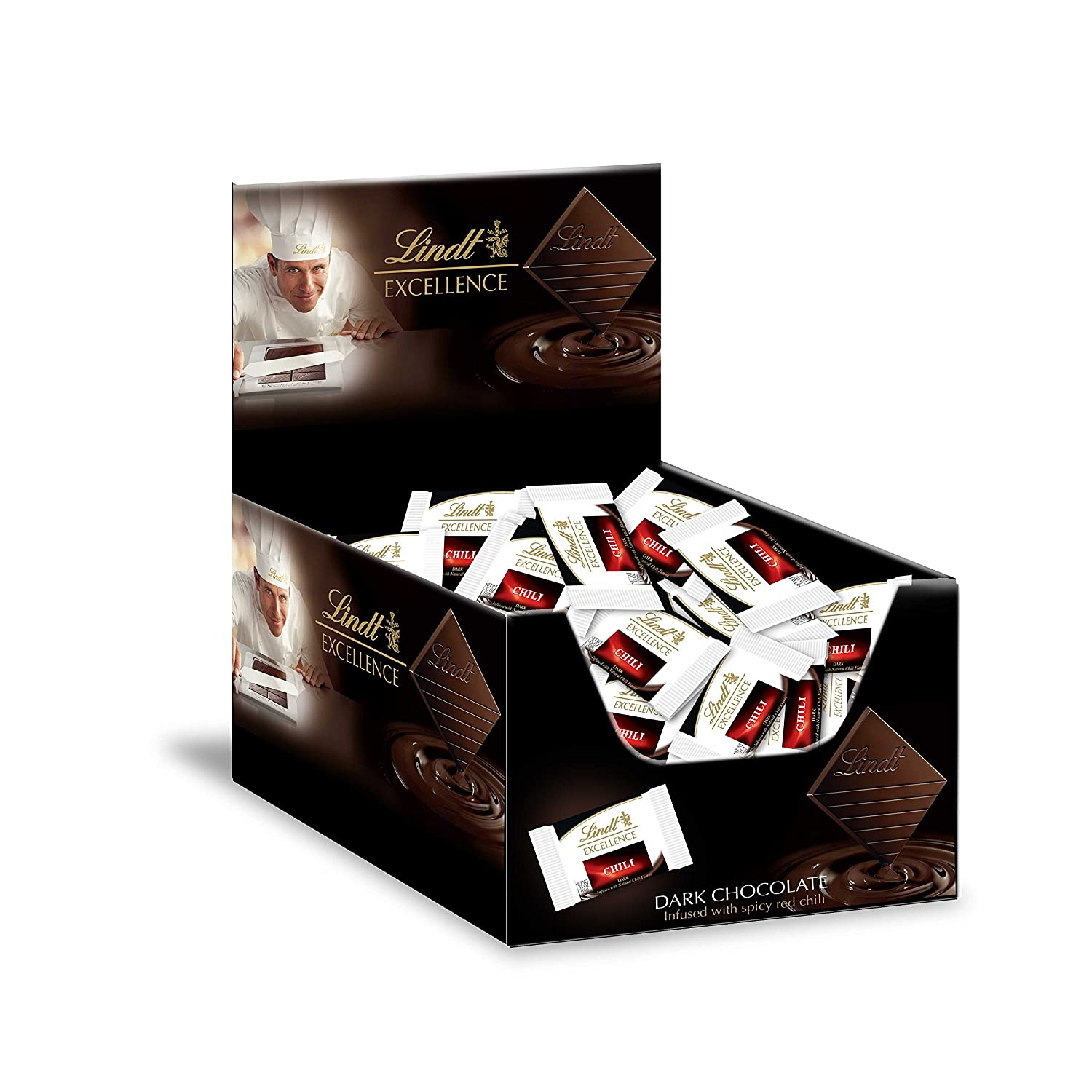 Amazon.com : Lindt EXCELLENCE 70% Cocoa Chocolate Diamonds 60ct ...