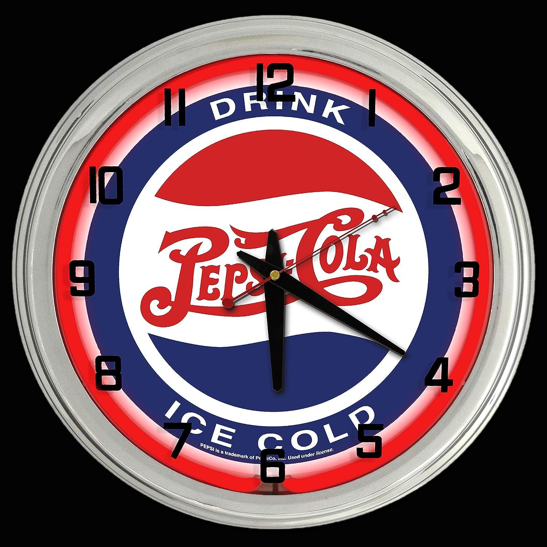 "Pepsi-Cola Nickel Drink 12/"" Round Tin Metal Sign Nostalgic Retro Home Wall Decor"