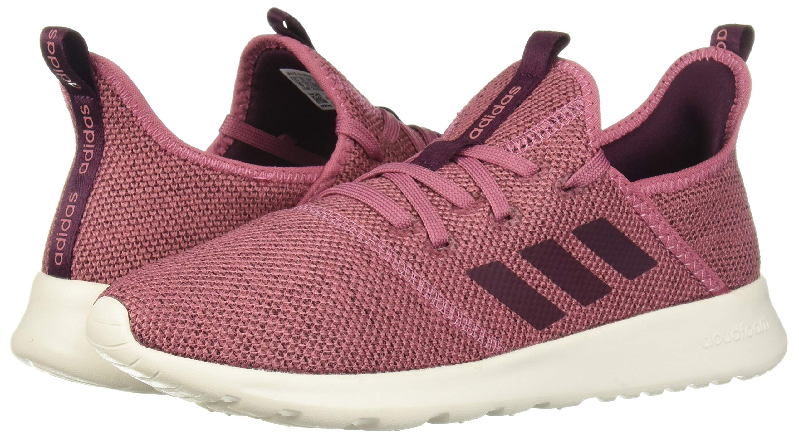 adidas Performance Women's Cloudfoam Pure Running Shoe, Maroon/Maroon/White, 5 M US by adidas (Image #6)