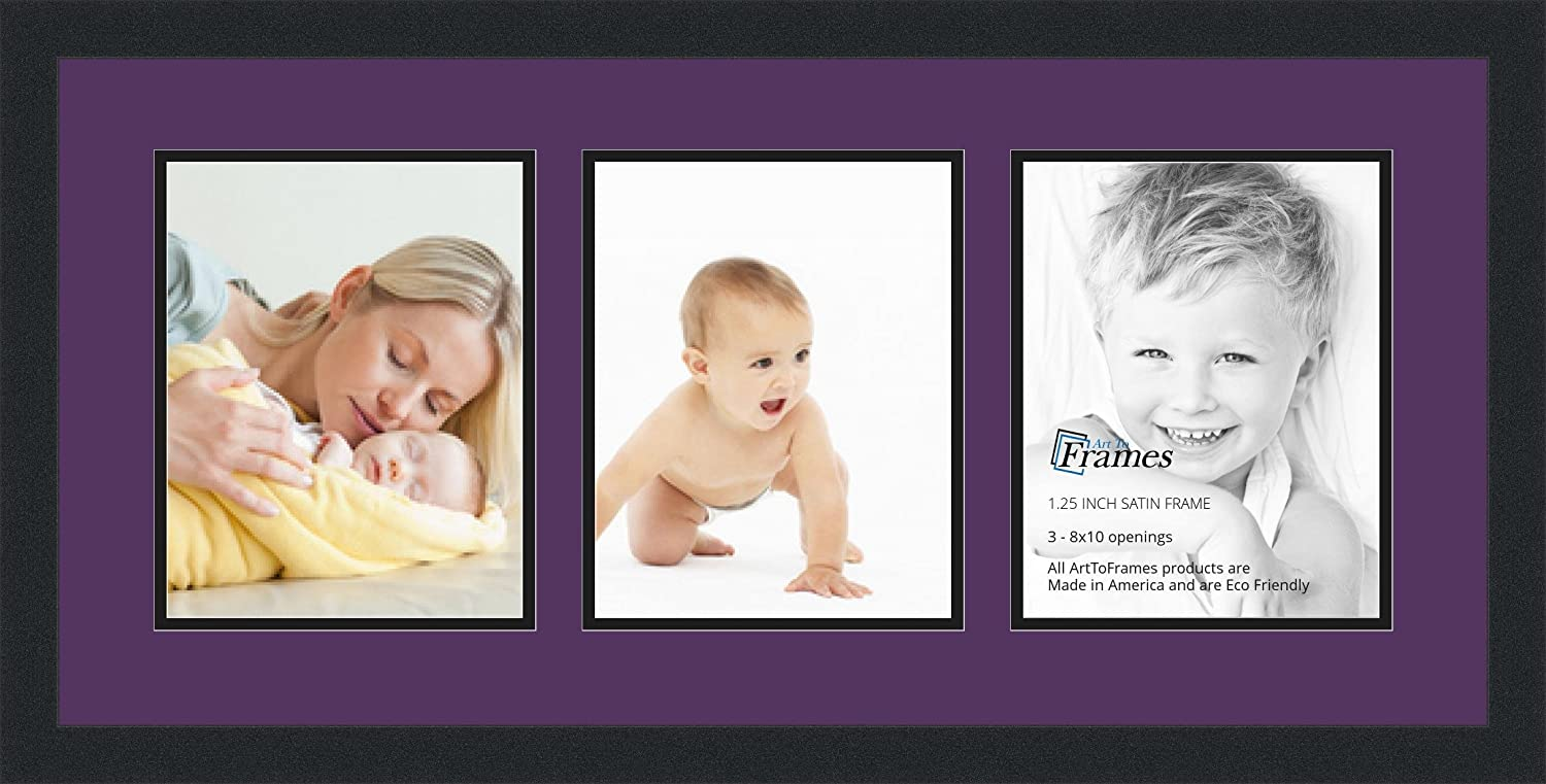 Amazon.com - ArtToFrames Collage Photo Frame Double Mat with 3 ...
