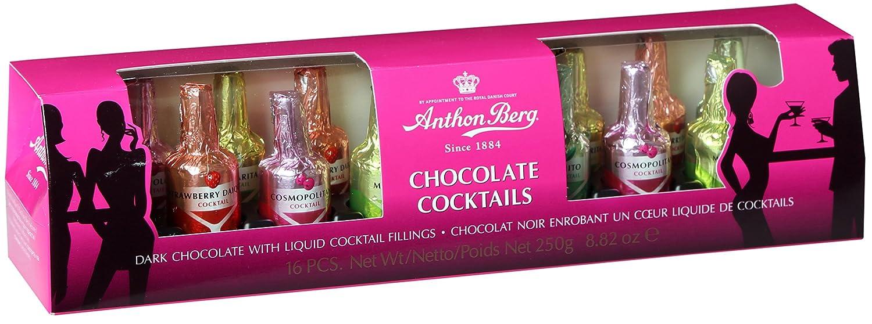 Anthon Berg 16 Assorted Cocktail Liqueur Bottles 250 g: Amazon.co ...