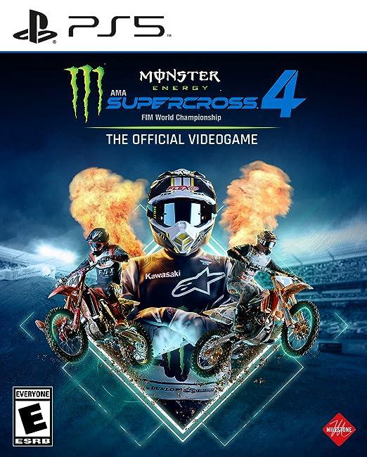 Monster Energy Supercross 4 - PlayStation 5 | Amazon
