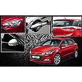Auto Pearl - Chrome Plated Accessories For Hyundai I20 Elite - Set Of 4 Pcs