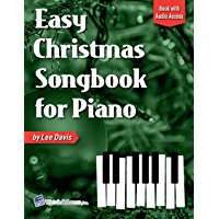 Easy Christmas Songbook for Piano: Book with Online Audio Access book cover