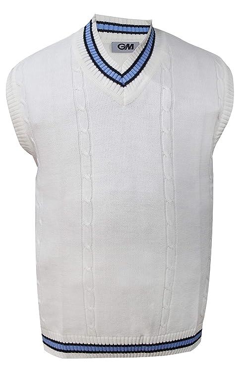 ee4775a30de2e6 Buy GM Men s Cricket Sweater   Slipover ( Sleeveless ) (L (40