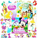 Disney Tattoos Party Favor Set For Girls -- Over 150 Temporary Tattoos Featuring Minnie Mouse, Disney Princess and Disney Fairies (30 Temporary Tattoo Sheets)