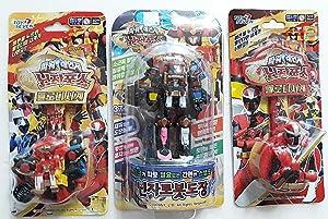 toy seven Ninja Steel Red Wristwatch + Megazord Wristwatch +Megazord Stamp Set