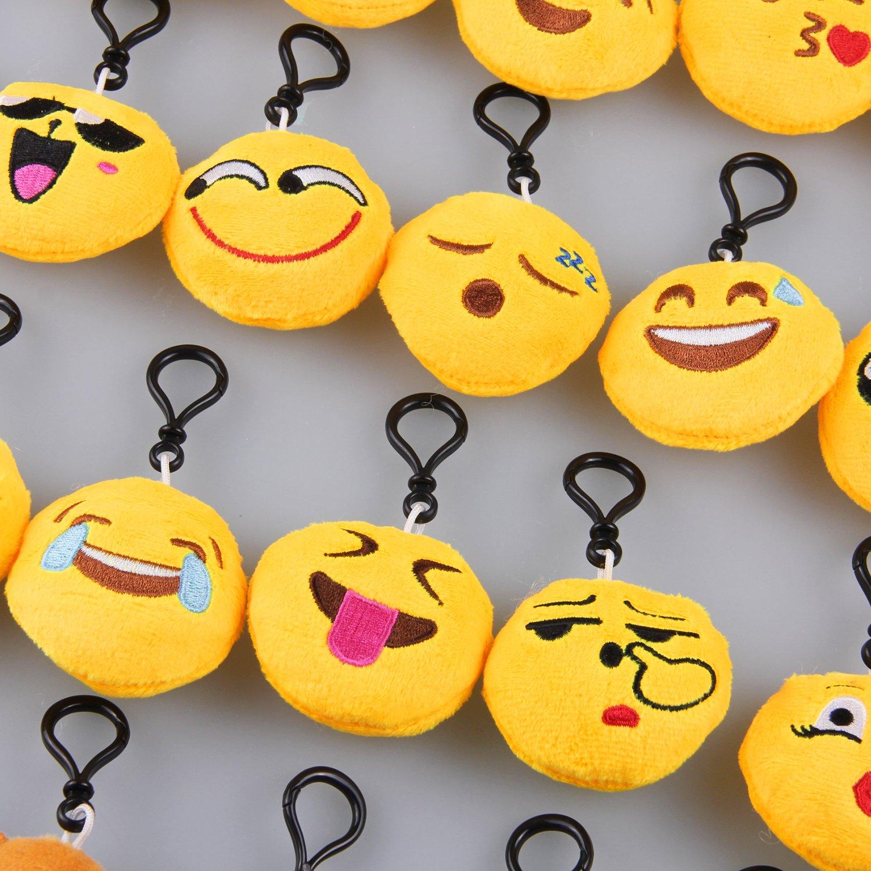 Vococal Emoji Llavero Mini Emoji Emoticonos Llavero Emoción ...