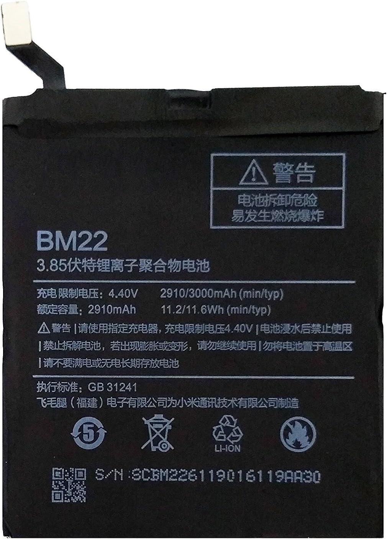 Batería Original para Xiaomi Mi 5 - 2910 mAh (Bulk): Amazon.es ...