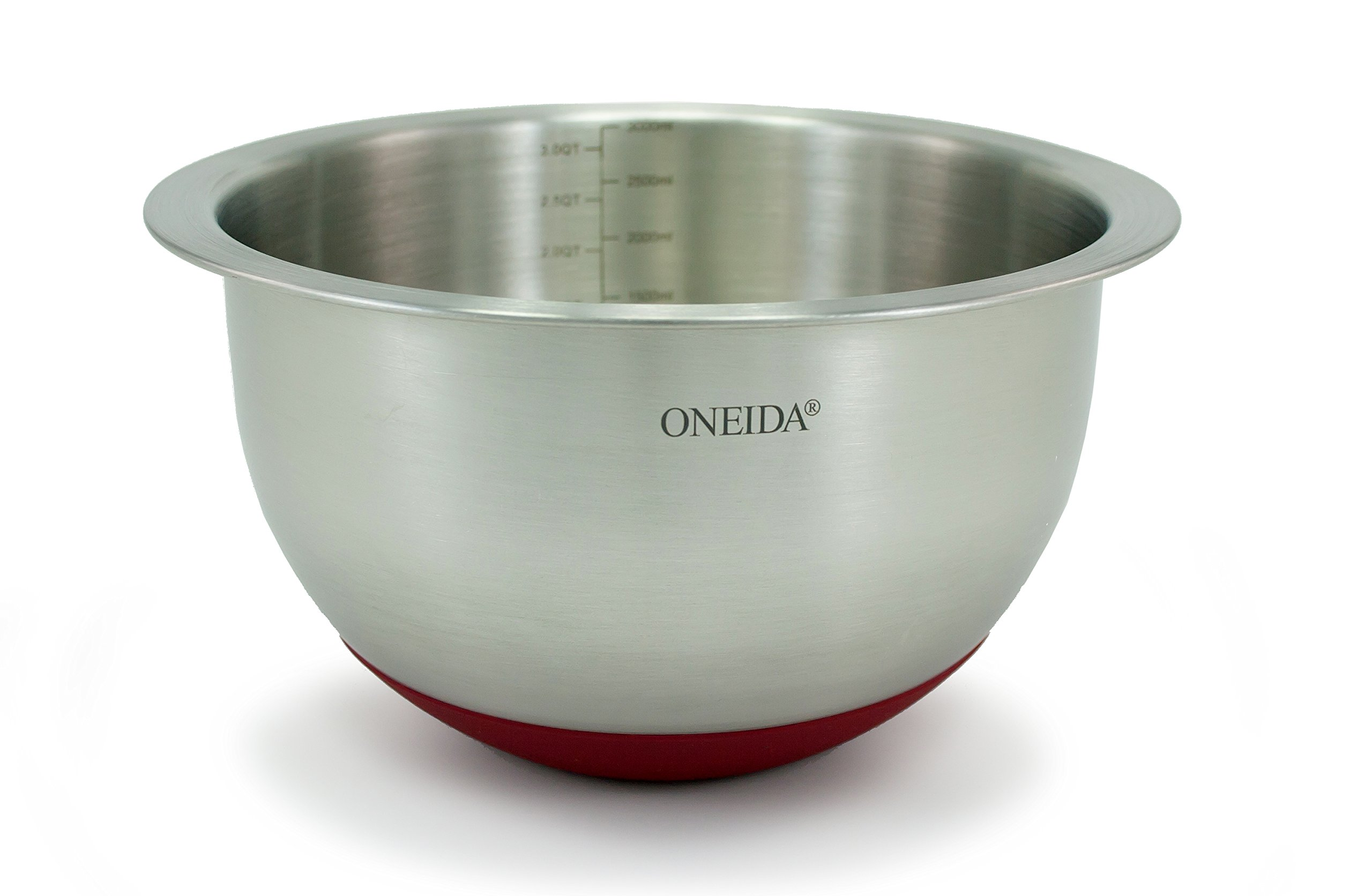Oneida Stainless Steel Mixing Bowls (3 Quart)