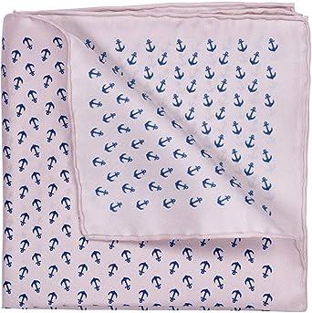 GENTSY Conjunto de corbata y pañuelo para hombre - K32/P35: Amazon ...