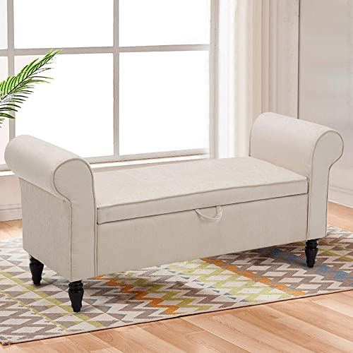 Changjie Furniture Modern Fabric Storage Bench