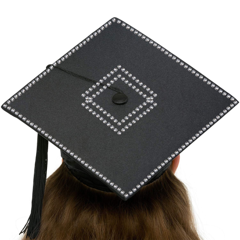 Blulu Conjunto de Decoración de Gorro de Graduación Pegatina ...