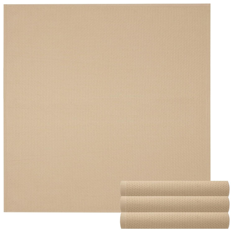 Coton graphite Lashuma Lot de 4/Nid Torchon/ 50 x 50 cm /sp/ül Serviettes en 100/% coton/ /Cuisine Lingettes dans superbe couleurs tendance