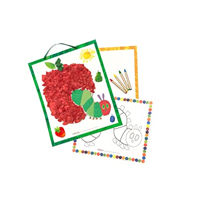 Eric Carle The Very Hungry Caterpillar Color & Collage Tissue Paper Kit (Set of 3): Toys & Games