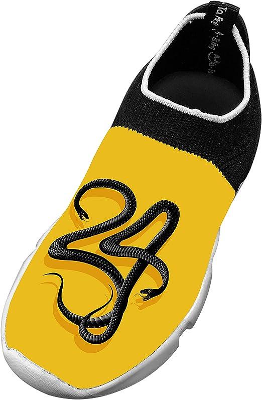 XieZbd Kids Amazing Lion Cool Fly Knit Sneaker Shoes