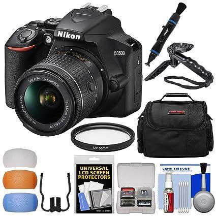 Amazoncom Nikon D3500 Digital Slr Camera 18 55mm Vr Dx Af P