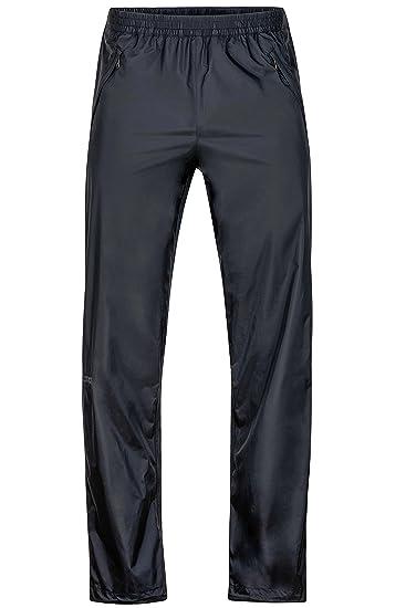 Marmot Herren Regenhose PreCip Full Zip, Black, S, 41260L001