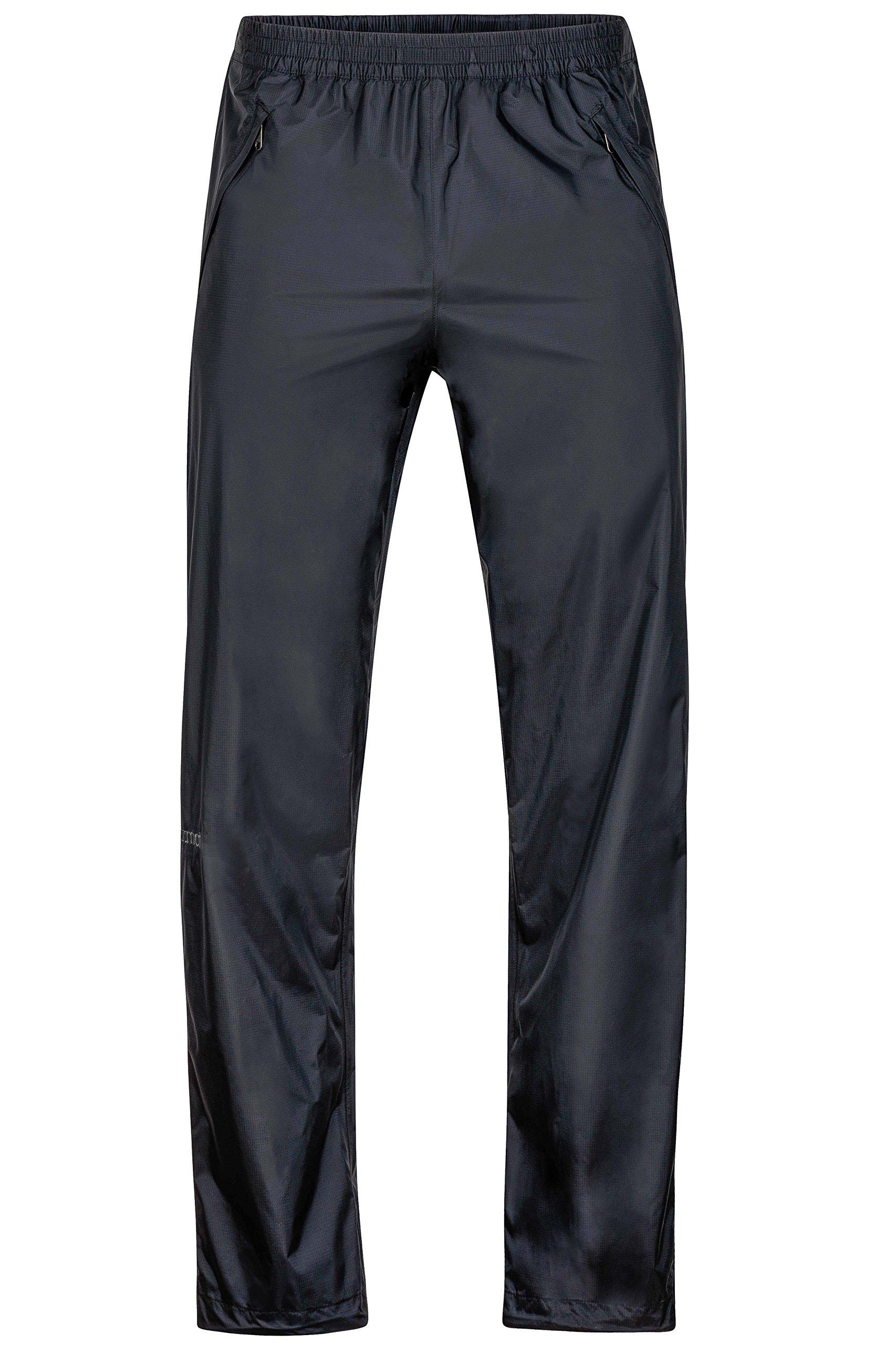 Marmot PreCip Full-Zip Pant - Men's Black, S/Short