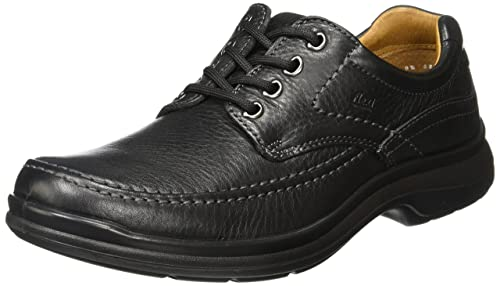 1070c708a1a4 Flexi Scandic 68901 Men's Genuine Black Leather Oxford   Comfort Walking  Shoes   Handmade in Mexico