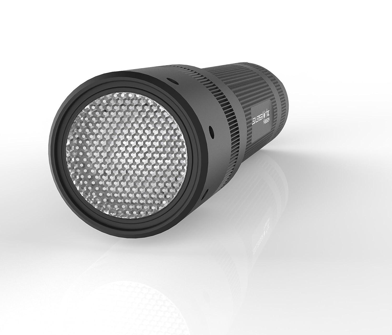 9802QCTP Led Lenser T2QC Lampe torche LED /à 4 couleurs couleur noire emballage test