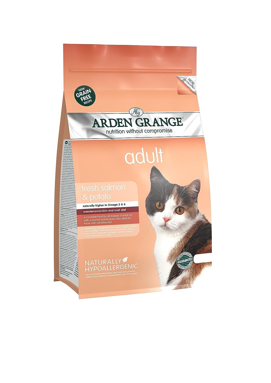 Arden Grange Dry Cat Food Adult Salmon 2Kg