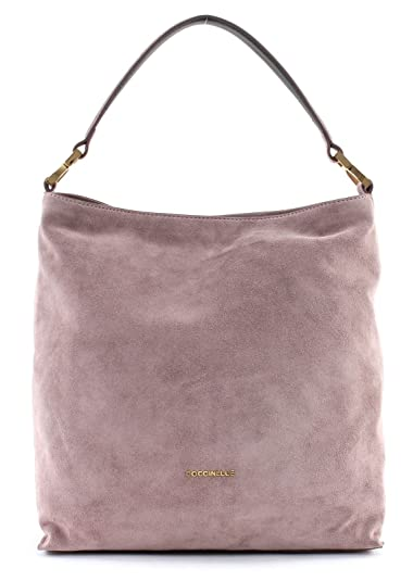 new lower prices cheap for discount 2018 sneakers COCCINELLE Arlettis Suede Hobo Bag M Pivoine: Amazon.fr ...