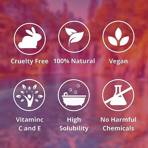 Nortembio Sal de Epsom 1,25 Kg. Novedosa Fragancia de Canela Naranja. Hidratada con Vitamina C y E. Sales de Baño y Cuidado Personal.: Amazon.es: Hogar