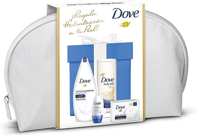 Dove Hidratación Intensa Neceser de Regalo, 4 Piezas - 1 pack ...