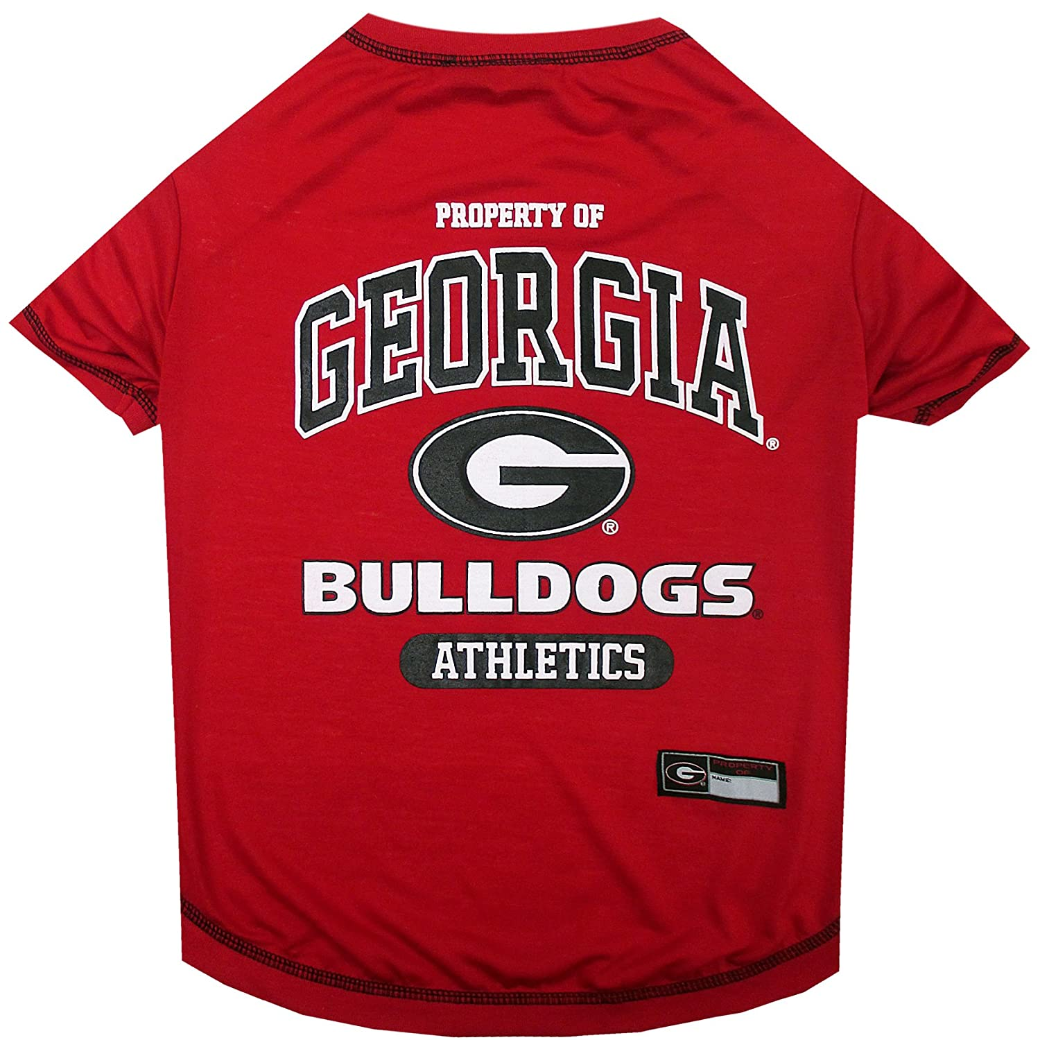 16a921f9087 NCAA T-SHIRT - DOG TEE SHIRT - Football   Basketball DOGS   CATS SHIRT -  Durable SPORTS PET TEE - 5 Sizes available in 50+ SCHOOL TEAMS - COLLEGE  PET OUTFIT ...