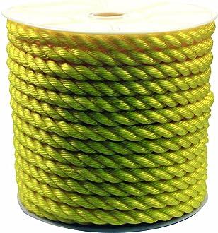 Rope King SBN-38500 Solid Braided Nylon Rope 3//8 inch x 500 feet