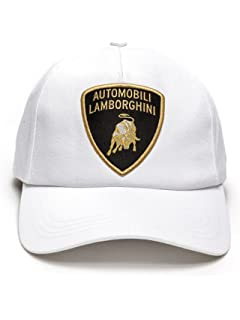 719188772a7ff Amazon.com  LAMBORGHINI Basic Shield Hat Blu Achelo  Clothing