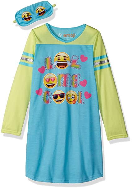 emoji Little Girls' L43822, Multi, 4