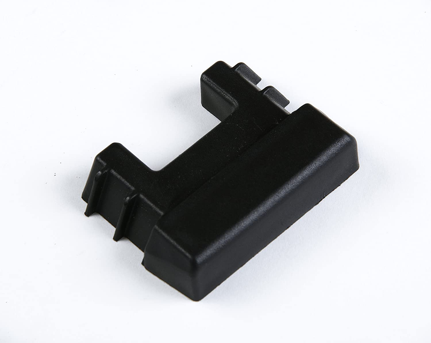 Durable Black Plastic End Protector Covers for Vertical E Track Tie-Down Rails E-Tracks NOT Included 10 E Track Tie-Down Rail End Caps