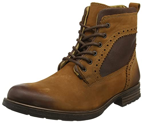 Footwear Botas Marrón tan Up Steve Madden Gannon Para Hombre Lace 15fT8