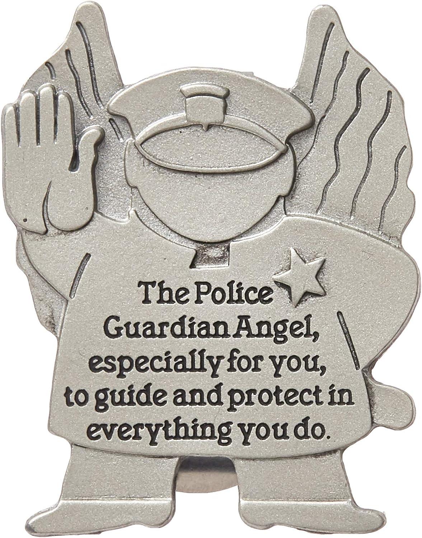 St Inc. Michael Police Officer Prayer Visor Clip by McVan