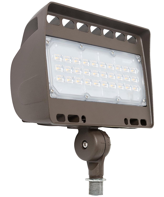 Westgate Lighting LED Flood Light With Knuckle Mount – Best Security Floodlight Fixture For Outdoor, Yard, Landscape, Garden Lights – Safety Floodlights - UL Listed (50 Watt, 3000K Warm White)